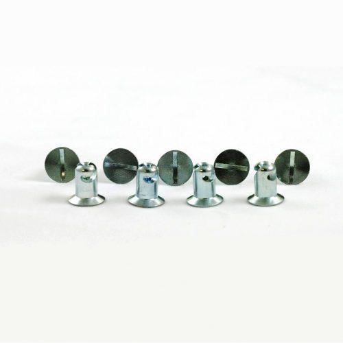 Quarter Turn Fastener Flat Head Buttons (10 pcs.)